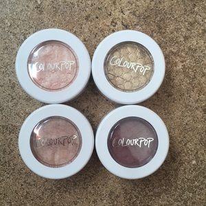 Colourpop eyeshadow bundle